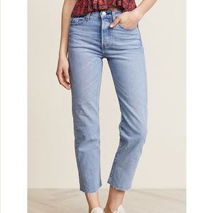 Levi's Wedgie Straight Jeans Clouded Consciousness